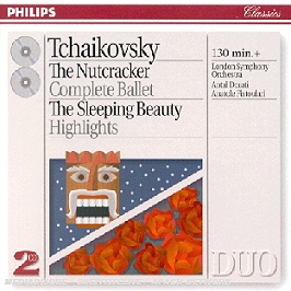 The nutcracker; the sleeping beauty, CD