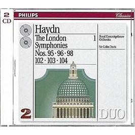 The London Symphonies N 95, 96, 98, 102, 103, 104, CD