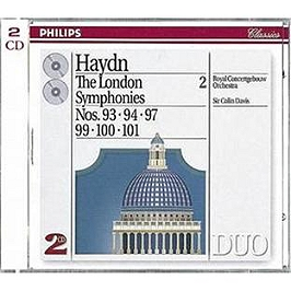 The London Symphonies N 93, 94, 97, 99, 100, 101, CD