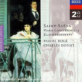 Concertos Pour Piano n°1, n°2, n°3, n°4, n°5, CD