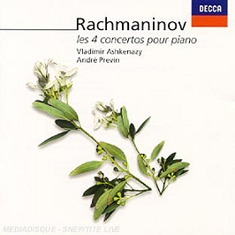 Les 4 Concertos Pour Piano, CD