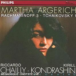 Rachmaninov : Concerto N°3 - Tchaikovsky : Concerto n°1, CD
