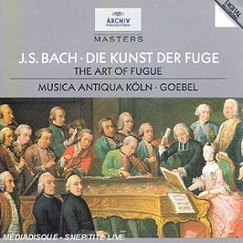 L'Art De La Fugue, CD