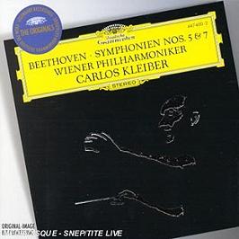 Symphonies N° 5 & 7, CD