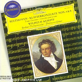 Concertos Piano N°4 & 5, CD