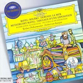 La Mer;Tableaux D'Une Exposition;Bolero, CD