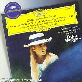 Piano concertos n°6, 17 & 21, CD