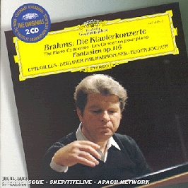Die Klavierkonzerte-the Piano Concertos-les Concertos Pour Piano;Fantasien Op 116, CD