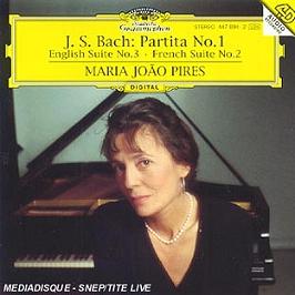 Partita N 1;Englische Suite N 3;Franzosische Suite N 2, CD