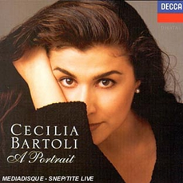 Cecilia Bartoli - portrait, CD