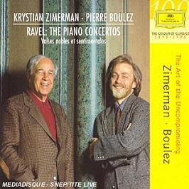 Les Concertos pour piano, valse nobles et sentimentales, CD