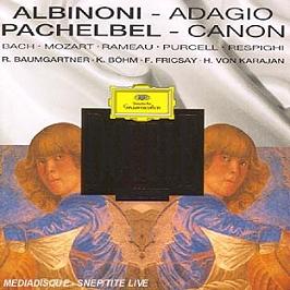 Albinoni-Pachelbel-Bach-Mozart..., CD