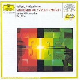 Symphonies N 25, 29 Et 31, CD