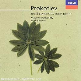 Les 5 Concertos Pour Piano, CD
