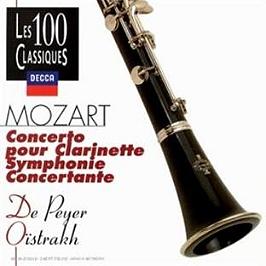 Concerto Pour Clarinette;Symphonie Concertante, CD
