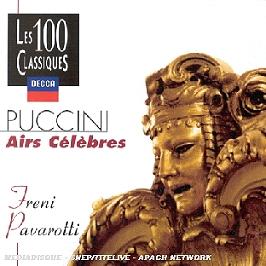 Airs célèbres, CD