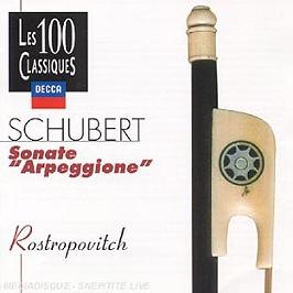 Sonate Arpeggione, CD