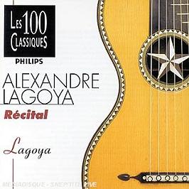 Alexandre Lagoya : récital, CD