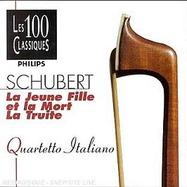 Quatuor La Jeune Fille;La Truite Vol 81, CD