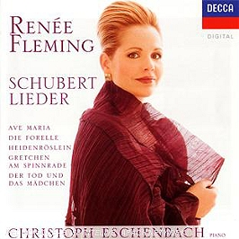 Lieder : ave Maria - die forelle - heidenroslein - gretchen am spinnrade..., CD