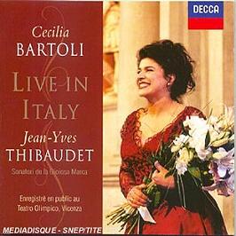 Live in Italy, CD