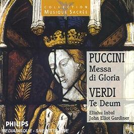 Messa Di Gloria;Te Deum, CD