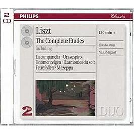 The Complete Etudes Including La Campanella;Un Sospiro;Gnomenreigen;Harmonies Du Soir;Feux Follets;M, CD