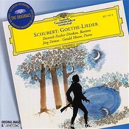 Goethe Lieder, CD