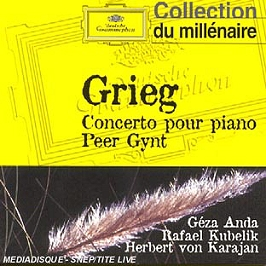 Concerto Pour Piano;Peer Gynt, CD