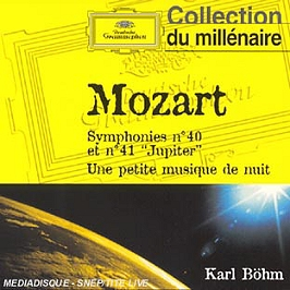 Symphonies N 40 Etn 41 'jupiter';Petite Musique De Nuit, CD