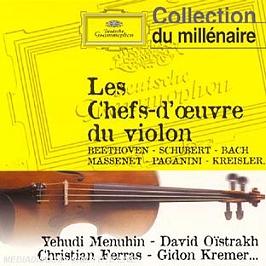 Les Chefs D'oeuvre Du Violon, CD