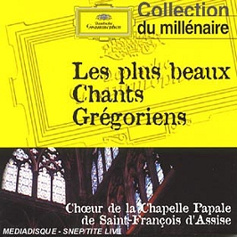 Les Plus Beaux Chants Gregoriens, CD