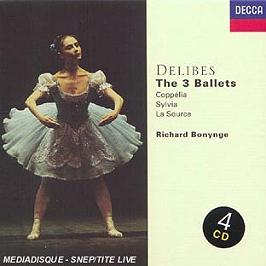 The 3 ballets, CD + Box