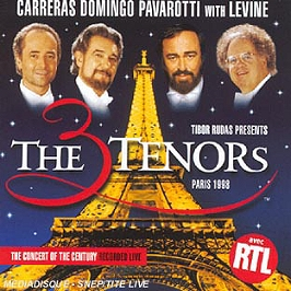 The 3 Tenors Paris 1988-The Concert Of The Century Recorded Live, CD