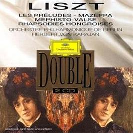 Les Préludes;Mazeppa;Mephisto Valse;Rhapsodies Hongroises, CD