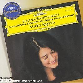 Toccata Bwv 911;Partita Bwv 826;English Suite N 2, CD