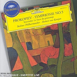 Symphonie N 5;The Rite Of Spring, CD