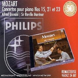 Concertos Pour Piano N 15, 21 Et 23, CD