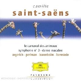 Le Carnaval Des Animaux;Symphonie N 3;Danse Macabre, CD