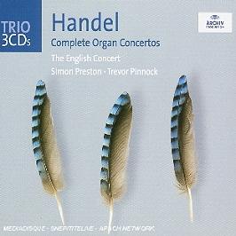 Concertos pour orgue (intégrale) (complete organ concertos), CD