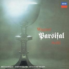 Parsifal (intégral), CD