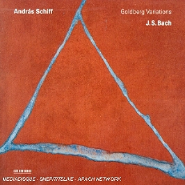 Variations Goldberg (Goldberg Variations), CD