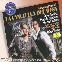 La fiancée du far west (intégral) (La Fanciulla Del West), CD