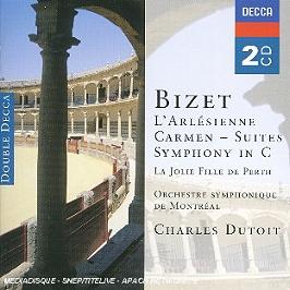 L'arlésienne (suites) - carmen (suites) - symphony in c..., CD