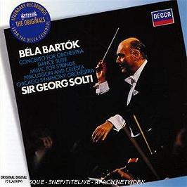 Concerto pour orchestre - suite de danses - musique pour cordes, percussion & celesta, CD