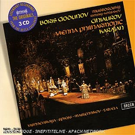Boris godounov, CD