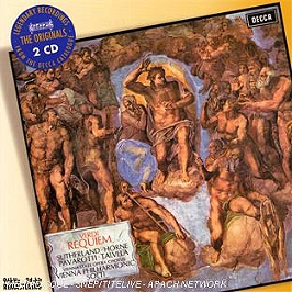 Requiem - quatre pièces sacrées, CD