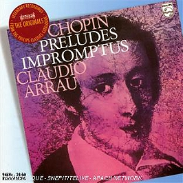 Préludes - impromptus, CD