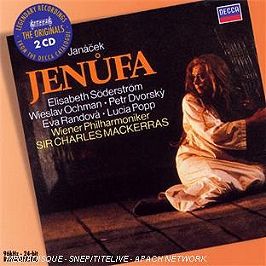 Jenufa, CD
