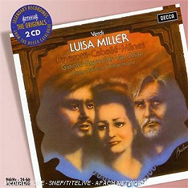 Luisa Miller, CD + Box